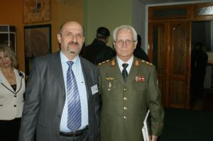 2 martie 2013 Alexandru Moraru impreuna cu Generalul Ion Costas