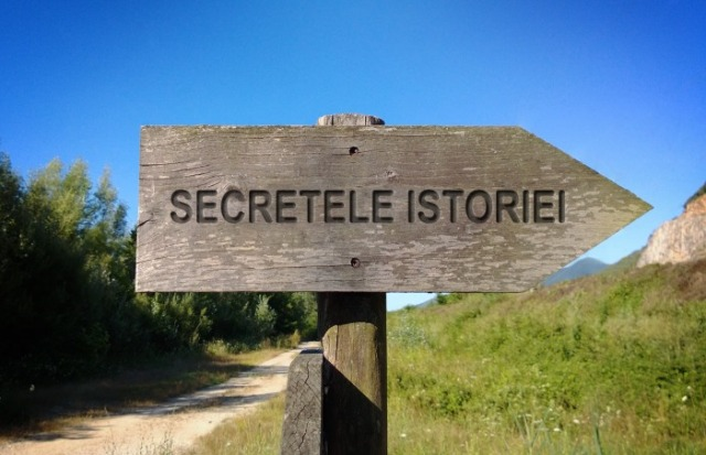 Baner Secretele Istoriei cu ALEXANDRU MORARU