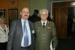 Istoricul Alexandru Moraru cu generalul Ion Costas