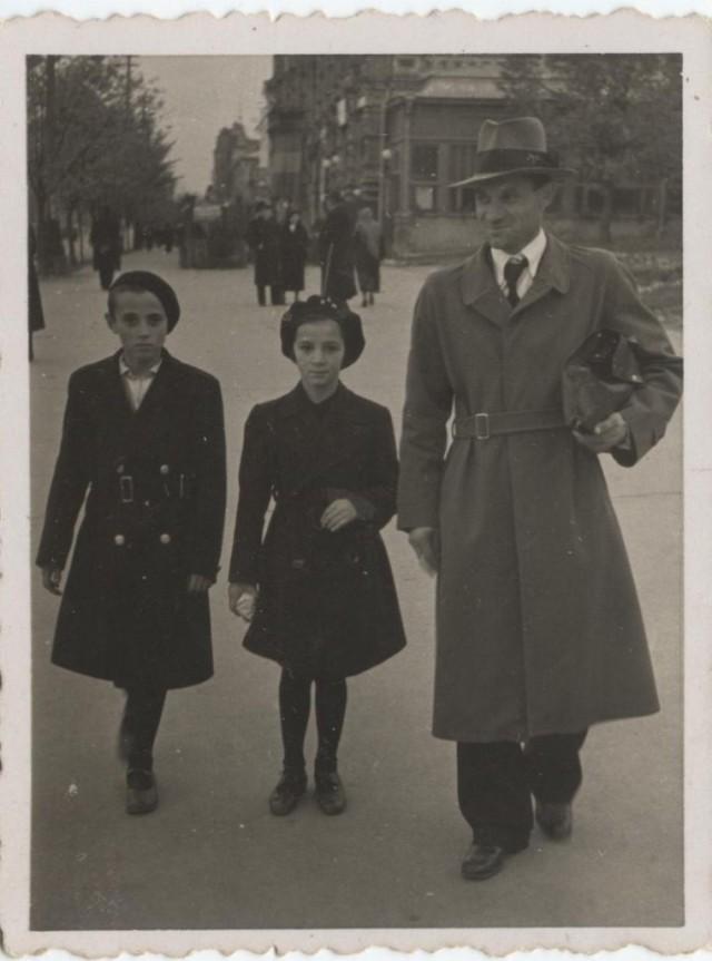 1938 Chisinau Valeriu-Maria Moraru cu Ion Tatarovici 001