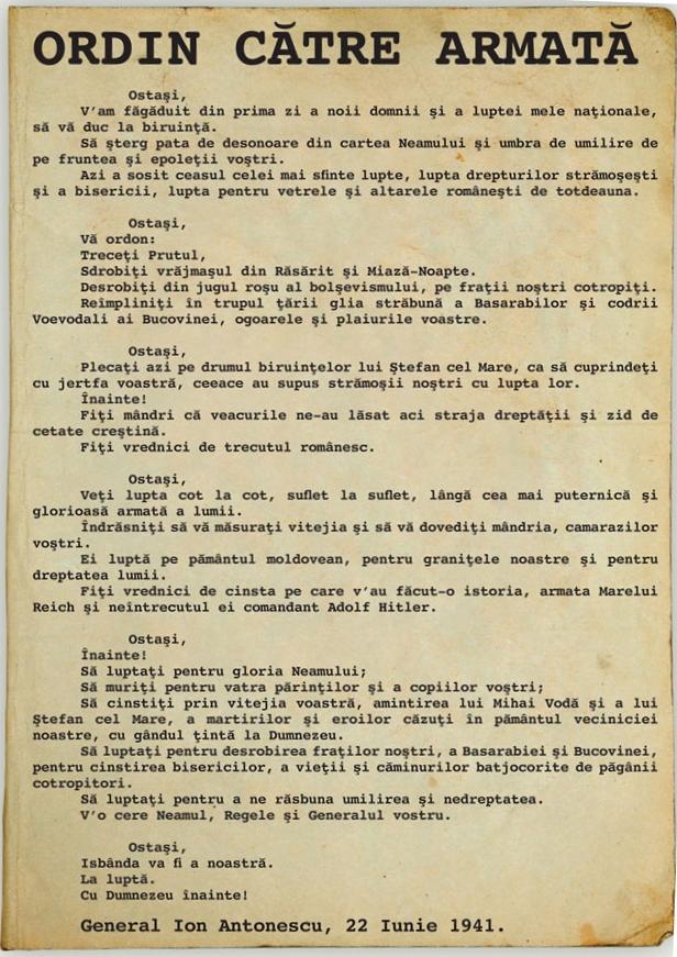 22-iunie-1941-Maresalul-Ion-Antonescu-Ostasi-va-ordon-treceti-Prutul-Basarabia-Roncea-Ro