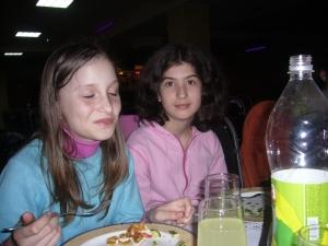 Laura cu Daniela 2007 aprilie