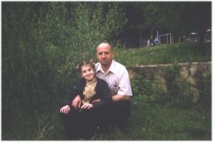 Laura cu tati