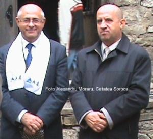 cu Anatol Petrencu la Cetatea Soroca