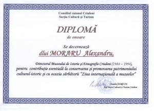 Diploma Directoruluide Muzeu 001