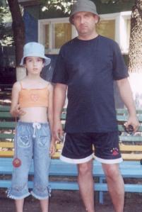 Cu tati in asteptarea pranzului Balabanovca